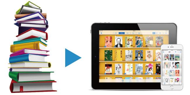 本の電子書籍化